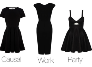 Simple Little Black Dress - Fn Dress