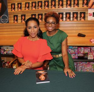 Amina Pankey author, at the Atlanta book signing of The Other Woman
