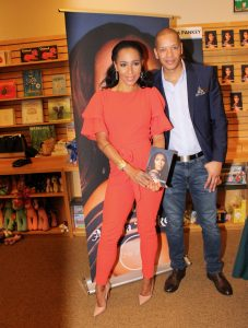 Amina Pankey, of VH1's Love and Hip Hop, at her book signing event for her new memoir, The Other Woman
