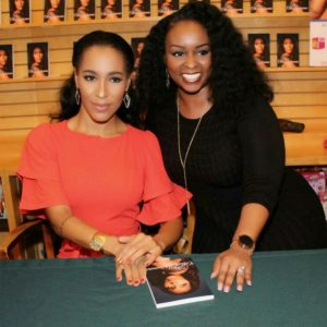 Amina Buddafly Pankey, author of The Other Woman, and Tiffany Nicole of tiffanynicoleforever.com