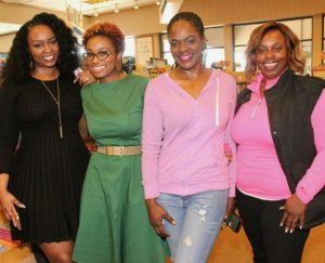 SWC & media at Amina Pankey's