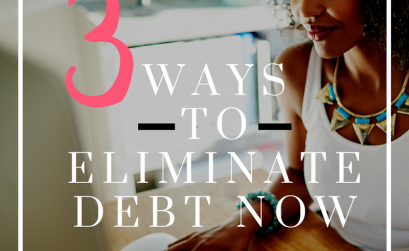 3 Steps to Eliminating Debt