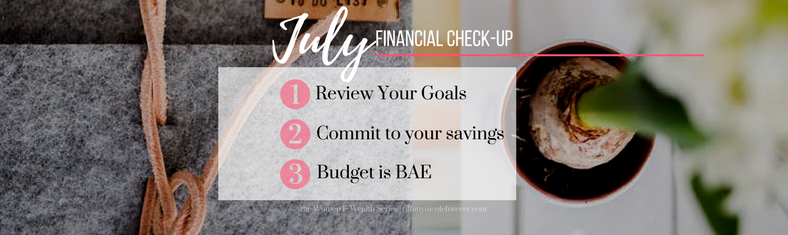 July Money Check-up