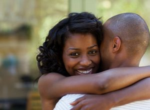 Blog pic - woman hugging a man